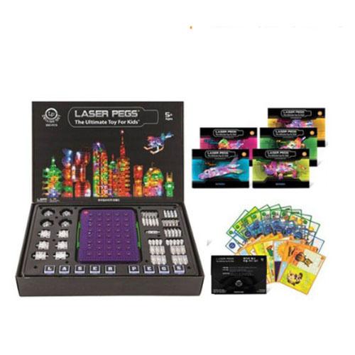 [레이저 페그] 330p 홈쇼핑 kit(디럭스)+가이드북 세트(퍼즐카드 포함)
