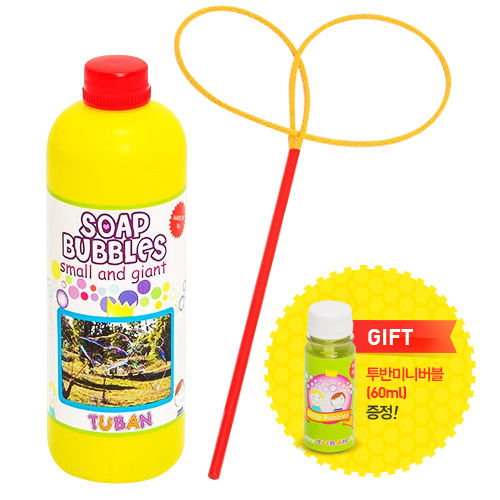 [TUBAN 투반]버블대(나비)+TUBAN 투반 버블액 500ml(기네스 기록보유 비누방울)